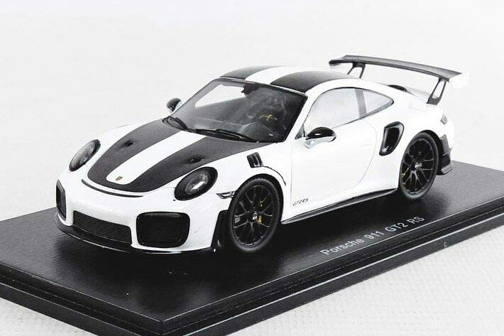 車, ミニカー・トイカー  143 911 991 GT2 RS 2018 Spark 1:43 PORSCHE 911 991 GT2 RS weissach package COUPE 2018 WHITE BLACK