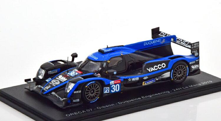 車, ミニカー・トイカー  143 07 30 24 2019 Spark 1:43 Oreca 07 Gibson No 30 24h Le Mans 2019 blueblack