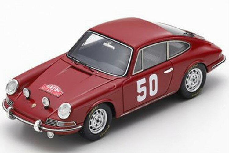 車・バイク, レーシングカー  143 911 50 1966 Spark 1:43 Porsche 911 No 50 Rally Monte Carlo 1966 Perrierde Pasquier red