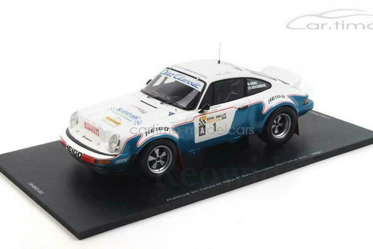 車, ミニカー・トイカー  118 911 SC Porsche Eifel 2014 150 Porsche 911 SC Eifel Rallye Festival 2014 - R246;hrl Geistd246;rfer - Spark 1:18