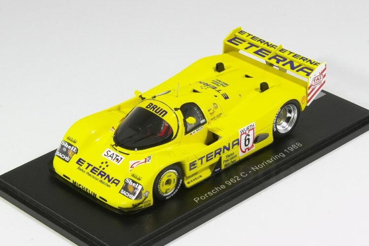 車, ミニカー・トイカー  143 962C 1988 6 250 Spark 1:43 Porsche 962 C Norisring 1988 Walter Brun
