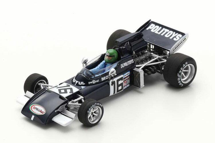 車, ミニカー・トイカー  143 721 GP 1972 Spark 1:43 March 721 Practice GP France 1972 Pescarolo