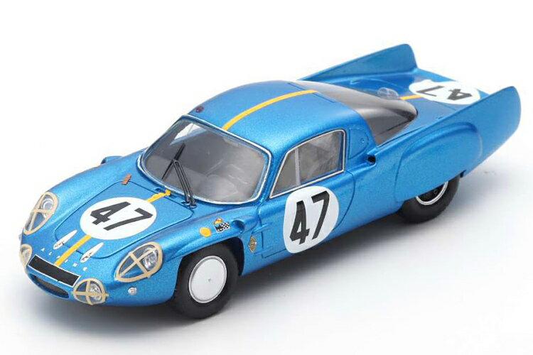 車, ミニカー・トイカー  143 A210 47 24 1966 Spark 1:43 Renault Alpine A210 47 24h Le Mans 1966
