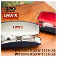 [M]【リーバイス LEVI'S ブランド メガネケース】ケア用品 デニム素材 おしゃれ【返品不可商品】【送料無料】