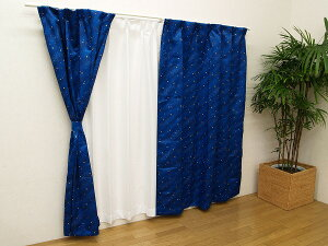 サイズオーダーカーテンジュニア プリント カーテン おしゃれ 子供部屋 メーカー キャンセル