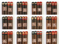 【名入れ無料】会津塗り・蒔絵仕上げ天然木の干支箸(一膳