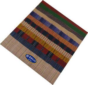 会津木綿の小物パッチワーク用 はぎれセット12枚の生地入り542