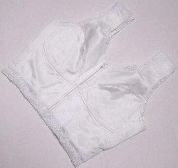 着物の補正下着 和装ブラジャーⅬサイズバストサイズだけでジャストフィット 白