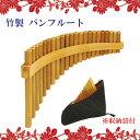 特選楽器 竹製 パンフルート 収納ケース付き おもちゃ 誕生日 プレゼント ギフト 【C18-6C-1251】 【C19-6C-1251】