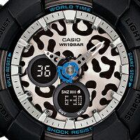 ■CASIO[カシオ]BABY-G【LeopardSeries[レオパードシリーズ]】ブラックBA-120LP-1AJF【_包装選択】