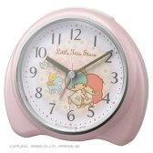 ■リズム時計【リトルツインスターズ R661】目覚まし時計 サンリオ 8RE661MS13【楽ギフ_包装選択】.