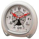 リズム時計【ふしぎの国のアリス】目覚まし時計 ディズニー ベージュ 8RE664MC38【楽ギフ_包装選択】.