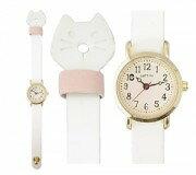 ■フィールドワーク 腕時計 ウォッチ【トリュフ】ネコ 白猫 ホワイト QKS150-1 [代引不可]【楽ギフ_包装選択】