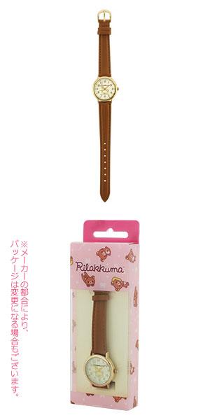 ■リラックマ【Rilakkuma リラックマ ウォッチ】ブラウン 合皮ベルト SX-B02-RKG【楽ギフ_包装選択】