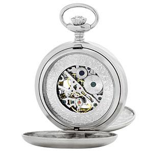 ■アルカフトゥーラ【ARCA FUTURA】スケルトン 懐中時計 手巻き 56528CPSK【楽ギフ_包装選択】