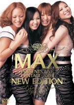 "■10%OFF■MAX DVD【MAX PRESENTS CONTACT2009""NEW EDITION""】09/8/5発売"
