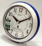 ■バスクロック[リズム時計]*防水防塵*掛置兼用時計【アクアパーク】ブルー 4KG711DA04/4KG711DN04/4KG711DB04 [後払い不可]【楽ギフ_包装選択】