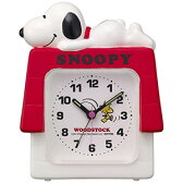 ■リズム時計[RHYTHM]【スヌーピー めざまし時計】4SE551MS03【楽ギフ_包装選択】