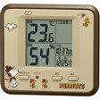 特価■リズム時計【スヌーピー 高精度 温・湿度計】室内環境注意報表示 8RD203-M06【楽ギフ_包装選択】