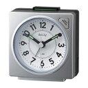 ■RHYTHM[リズム時計]【デイリー RA27】目覚まし時計 シルバーメタリック 8REA27DN19【楽ギフ_包装選択】.