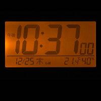 リズム時計◆デジタル電波目覚まし時計【フィットウェーブスマート】温湿度計付き白8RZ166SR03【楽ギフ_包装選択】.