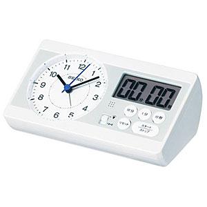 【在庫あり】●SEIKO セイコー【スタディタイム】学習用時計 目覚まし時計 タイマー KR893W【ギフト不可】