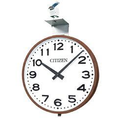シチズン■屋外用電波時計 ソーラー電波掛時計【OUTDOOR CLOCK SLシリーズ 壁掛 丸型】径700mm SL-700E [代引不可]【ギフト不可】.