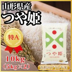 山形県産 つや姫 10kg(5kg×2)(62-C)