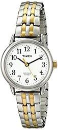 【中古】【輸入品・未使用】Timex Women's Easy Reader Two-Tone Watch with Expansion Band