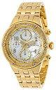 【中古】【輸入品・未使用】Invicta Women's Angel Gold-Tone Steel Bracelet & Case Quartz Analog Watch 29525