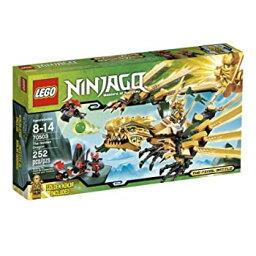 【中古】【輸入品・未使用】レゴ 黄金ドラゴン(70503)