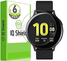 【中古】【輸入品・未使用】IQ シールド スクリーンプロテクター Samsung Galaxy Watch Active2 (44mm、2019) (6パック) LiquidSkin 気泡防止クリアフィルム