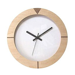 【中古】【輸入品日本向け】フォーカス・スリー 置き時計 ナチュラル 直径26.5×奥行4.5cm
