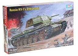 【中古】【輸入品日本向け】トランペッター 1/35 KV-1重戦車エクラナミ プラモデル