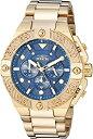 【中古】【輸入品・未使用】Invicta Men's 25829 Pro Diver Quartz Chronograph Blue Dial Watch