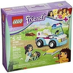【中古】【輸入品・未使用】LEGO Friends 41086 Vet Ambulance