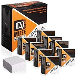 【中古】【輸入品・未使用】MUTE | アスレチックチョーク 非毒性 汚れなし - 2オンスブロック
