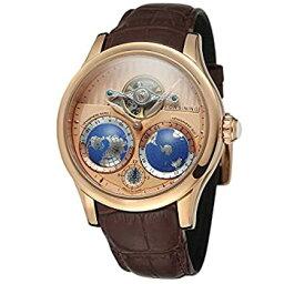 【中古】【輸入品・未使用】FORSINING メンズ ブランド 自動ムーブメント ステンレススチールケース 世界地図文字盤 腕時計 FSG9413M3R3