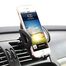 【中古】【輸入品・未使用】ilikable エアコン吹き出し口電話ホルダー - 360度回転 カー携帯電話マウント - 車載ホルダー スマートフォン Android iPhone GPS デバイス対応