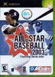 【中古】【輸入品・未使用】All-Star Baseball 2003 / Game