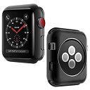 【中古】【輸入品・未使用】Apple Watchシリーズ3スクリーンプロテクター、myecogo for Apple iWatch 3超薄型透明PCハード画面保護バンパーカバーケースfor Apple Watchシリ