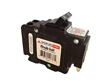 DIY・工具, その他 AmericanFederal Pacific Circuit Breaker 2-Pole 20-Amp Thin Series by Connecticut Electric