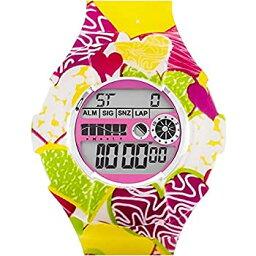 【中古】【輸入品・未使用】JoyJoy 。ハートのJar Interchangeable Silicone Watch jj-4058?W
