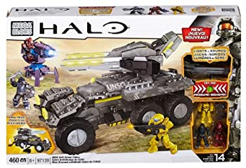 【中古】【輸入品・未使用未開封】Mega Bloks Inc Mega Bloks - Halo - UNSC Anti-Armor Cobra (Lights & Sounds)(97139)並行輸入画像