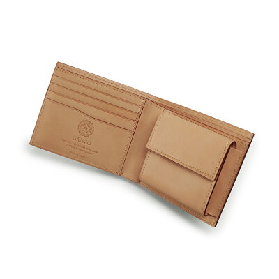 大人の男が選ぶおしゃれなメンズ財布ブランド ガンゾ コードバン 2つ折り財布