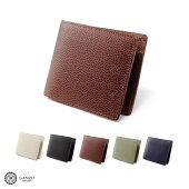 メンズ・GANZO・ガンゾ・日本製・折財布・メンズ・牛革・ブラック・ブラウン・グリーン・カーキ・ネイビー・黒