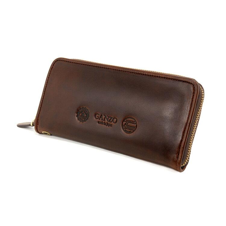 GANZO(ガンゾ)『GH5ラウンドファスナー長財布(57556)』