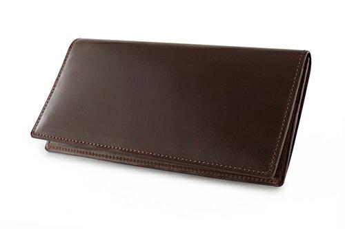 GANZO(ガンゾ)『シェルコードバン2ファスナー小銭入れ付き長財布(57237)』