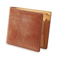 GANZO・ガンゾ・THINBRIDLE・シンブライドル・折財布・2つ折り財布・メンズ・ブラック・ヘーゼル・ダークブラウン・ネイビー