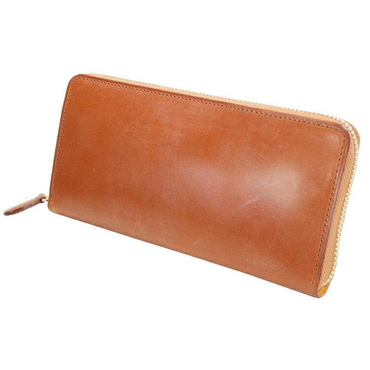 GANZO(ガンゾ)『シンブライドルラウンドファスナー長財布(57239)』